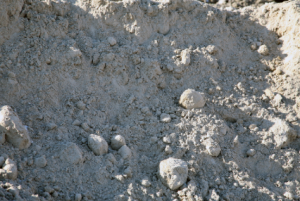 Image of soil construction waste