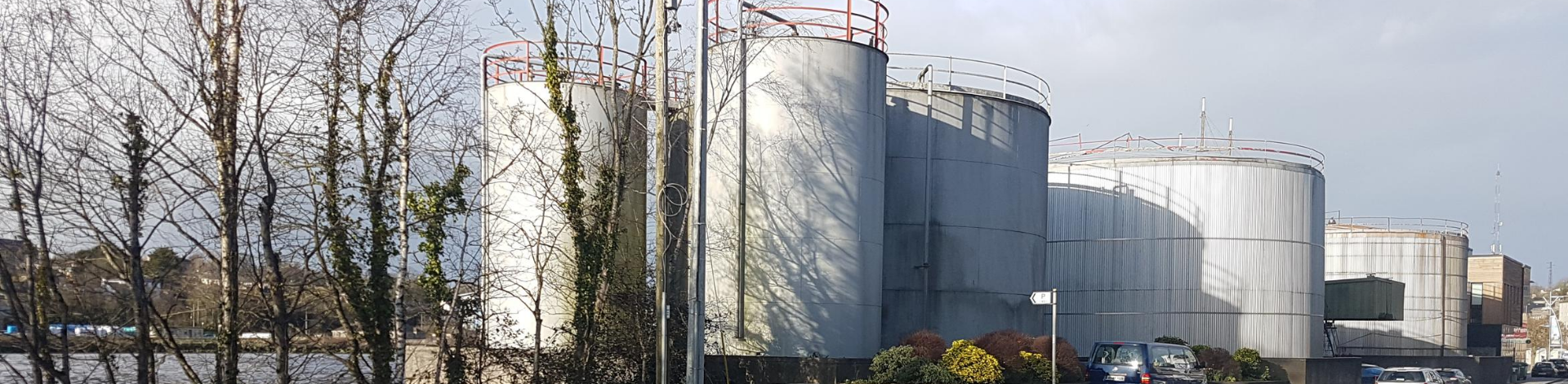 Image of Fuel Storage Tanks in New Ross