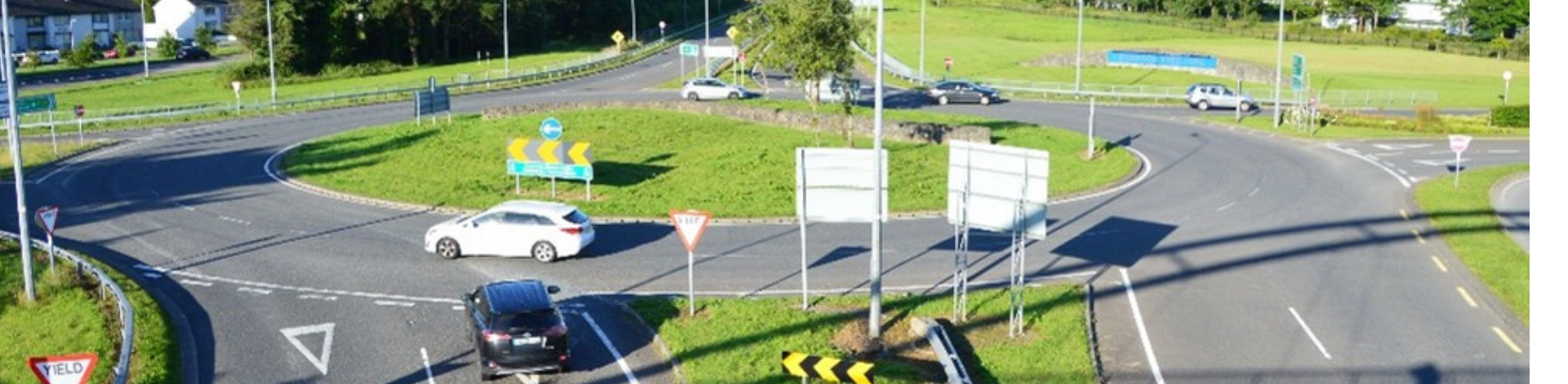 Image of N19 Shannon Airport Access roundabout